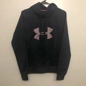 Black under armor hoodie